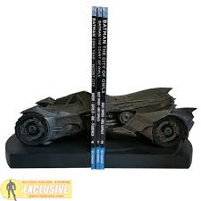 Batman Desk Accessories Batman Arkham Batmobile Statue Bookend Icon Heroes Pop