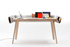 functional work table furniture with innovative storage system