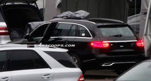 mercedes c class station wagon scoop revealing photos of 2015 mercedes c class wagon