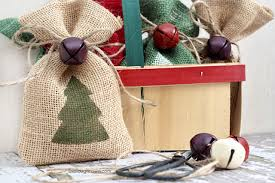 burlap gift bags inspiration hoosier