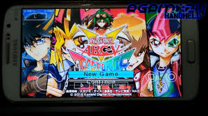 yugioh android psp ppsspp yu gi oh arc v tag special patched on