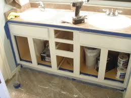how to repaint bathroom cabinets white bar cabinet