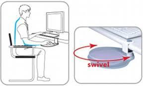 Mouse Platform Under Desk Aidata Um003 Mouse Platform Under Desk Platinum Ergonomic Design