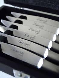 couteaux steak laguiole coffret laguiole pradel 6 couteaux fabriqués en france