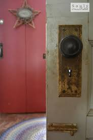 i love my new old door hung as a barn door soulyrested