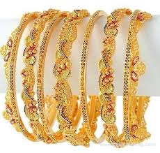 gold bangles designs 2014 for 6