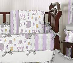 purple and yellow baby bedding 5315