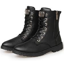 mens boots motorcycle urban fashion leather motorcycle ankle boots mens retro stylish