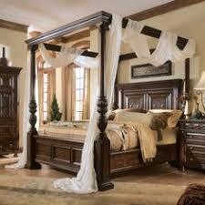 Villa Valencia California King Size Canopy Poster Bed Victorian - California king size canopy bedroom sets