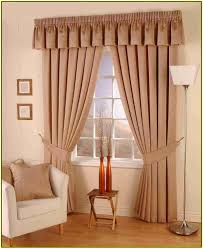 decor deluxe jc penney drapes in white and brown color combined