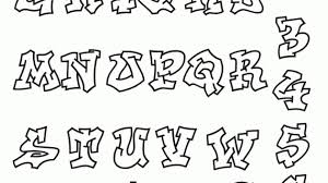 cursive graffiti alphabet best graffiti collection