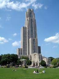 a photo tour of pittsburgh s upper lawrenceville neighborhood the pittsburgh cathedral of learning in oakland