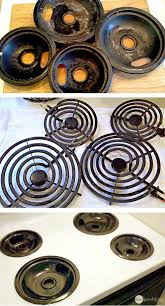How To Clean A Ceramic Cooktop Stove Best 25 Clean Stove Burners Ideas On Pinterest Cleaning Burners