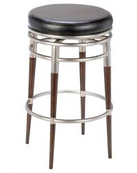 square black wicker seat bar stool with polished iron wrought