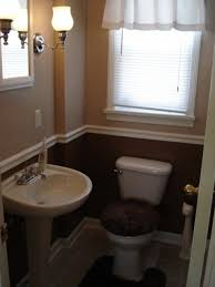small half bathroom ideas 31 best our home downstairs 2 tone half bath images on