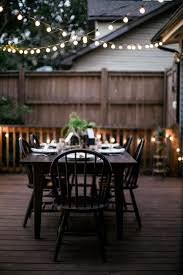 outdoor room ambience globe string lights the garden glove