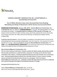 general masonry wins best of houzz 2016 awards u2013 general masonry