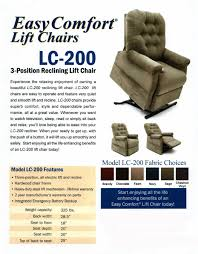 Electric Recliner Lift Chair Mega Motion Lc 200 3 Position Easy Comfort Power Lift Chair
