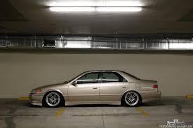 lexus es300 slammed granny gold sedan archive stanceworks