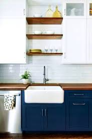 open shelving kitchen cabinets bathroom winning ideas about navy cabinets open shelving kitchen