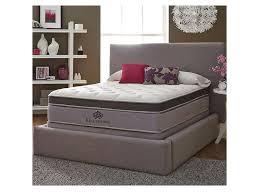 kingsdown anniversary platinum queen pillow top mattress becker