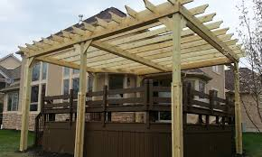 Deck Pergola Pictures by Pergoal Construction