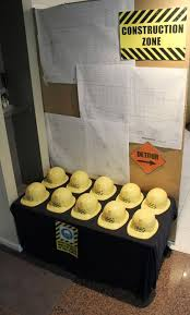 construction party ideas grab your hat for this construction themed birthday party