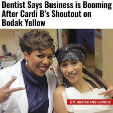 David At The Dentist Meme - dopl3r com memes dentist says business is booming after cardi
