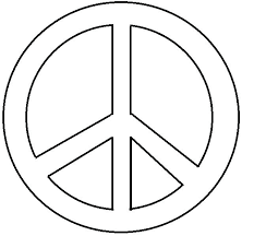 peace sign coloring page go digital with us 12d8b720363a