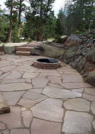 stone patio on cheap patio furniture and best slate patio pavers