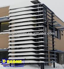 dexone aluminum exterior window shutter sun shade louver buy
