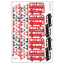 100 wall stickers london wall stickers funky vinyl wall children s london bus and taxi wall sticker border by koko kids