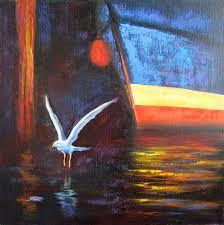 unique painting unique painting street painting and creative art gull painting