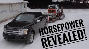 Ford Diesel Truck Horsepower - the 2018 f 150 horsepower u0026 torque numbers are here youtube
