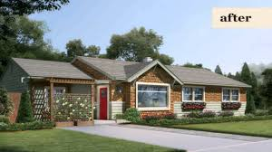 California Ranch House by Ranch Style House Curb Appeal Pictures Youtube