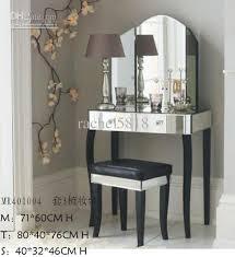 Small Mirrored Vanity 2017 Mr 401004 Mirrored Vanity Set W Beveled Edge From Rachel5818