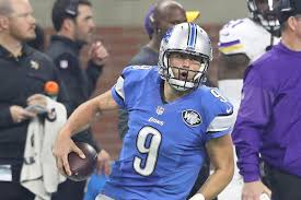 vikings vs lions matthew stafford breaks tony romo thanksgiving