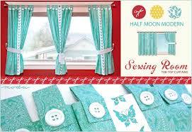 Tab Top Button Curtains Brilliant Tab Top Button Curtains Ideas With Modas Half Moon