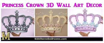 Wall Crown Decor Pleasurable Ideas Metal Top Princess Art – tradesman