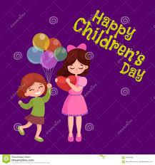 children s cards vector illustration kids greeting card happy childrens