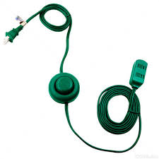 9 ft indoor extension cord with safety covers
