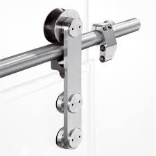 Pemko Barn Door Hardware by Single Point Fixings For Interior Applications Thanks To The