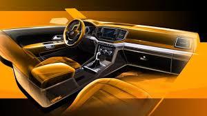 volkswagen wagon interior 2017 volkswagen amarok facelift previewed performancedrive