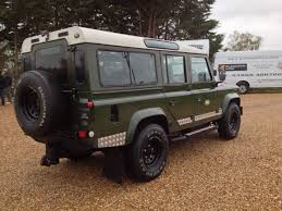 land rover 1990 used land rover defender 110 3 5 v8 county station wagon lpg