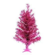 2ft pink slim tinsel tree wondershop target