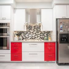 kitchen backsplash ideas with white cabinets houzz 75 beautiful kitchen with multicolored backsplash pictures