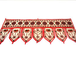 elephant toran for christmas home decor off white indian valance