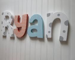 hanging nursery letters navy blue u0026 green nursery letters