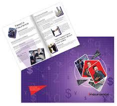 insurance brochure template designs
