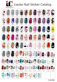 varios custom design nail patch sticker nail art decal wraps nail